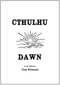Cthulhu Dawn - Proto Edition