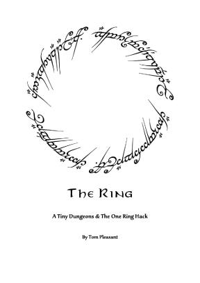 Tiny D6 - The Ring - COVER